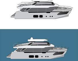#249 para Simple boat line art logo por cram3632