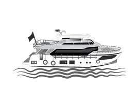 #251 para Simple boat line art logo por mdjahedul962