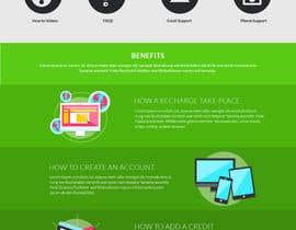 #12 cho Design a Website Mockup for Telecommunications Company bởi DezineGeek