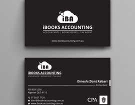 #36 for iBooks Accounting Business Card by dipangkarroy1996