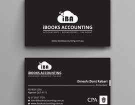 Nro 36 kilpailuun iBooks Accounting Business Card käyttäjältä dipangkarroy1996