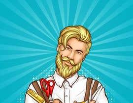 #13 untuk Graphic design A Frame Barber Shop oleh Haidar16