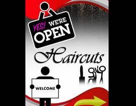 #15 untuk Graphic design A Frame Barber Shop oleh SureshKani02