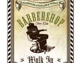 #16 untuk Graphic design A Frame Barber Shop oleh ashishmehta591
