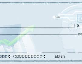 #21 para Create a background image for a US check for my company por yasmeenhassan53