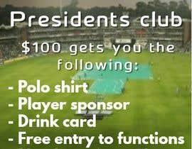 Nro 10 kilpailuun Poster 100 club käyttäjältä udemepaul