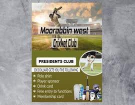 Nro 17 kilpailuun Poster 100 club käyttäjältä nurpixel