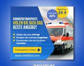 #50 для create banner 300 x 250 px for patient transport от imranshikder
