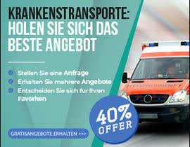 #106 для create banner 300 x 250 px for patient transport от imranshikder