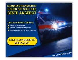 #49 для create banner 300 x 250 px for patient transport от SebiSebi