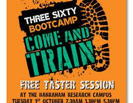 #65 cho design poster/flyer for outdoor fitness bootcamp bởi irfananis07