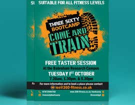 #81 cho design poster/flyer for outdoor fitness bootcamp bởi mdabdulkhalequea