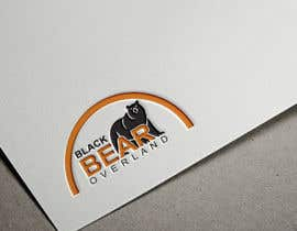 """#86 for I would like a logo designed to showcase my company name which will be """" black bear overland"""" I'm looking for the outline of a black bear inset in a semi circle( globe) or something similar, but I'm not limited to that design. by salinaakhter0000"""