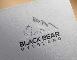 """#52 for I would like a logo designed to showcase my company name which will be """" black bear overland"""" I'm looking for the outline of a black bear inset in a semi circle( globe) or something similar, but I'm not limited to that design. by nasironline791"""