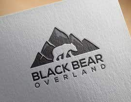 """#53 for I would like a logo designed to showcase my company name which will be """" black bear overland"""" I'm looking for the outline of a black bear inset in a semi circle( globe) or something similar, but I'm not limited to that design. by nasironline791"""