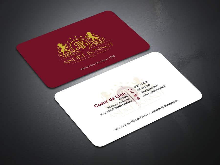 Proposition n°                                        118                                      du concours                                         Create visit card
