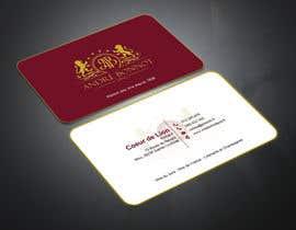 nº 121 pour Create visit card par abdulmonayem85