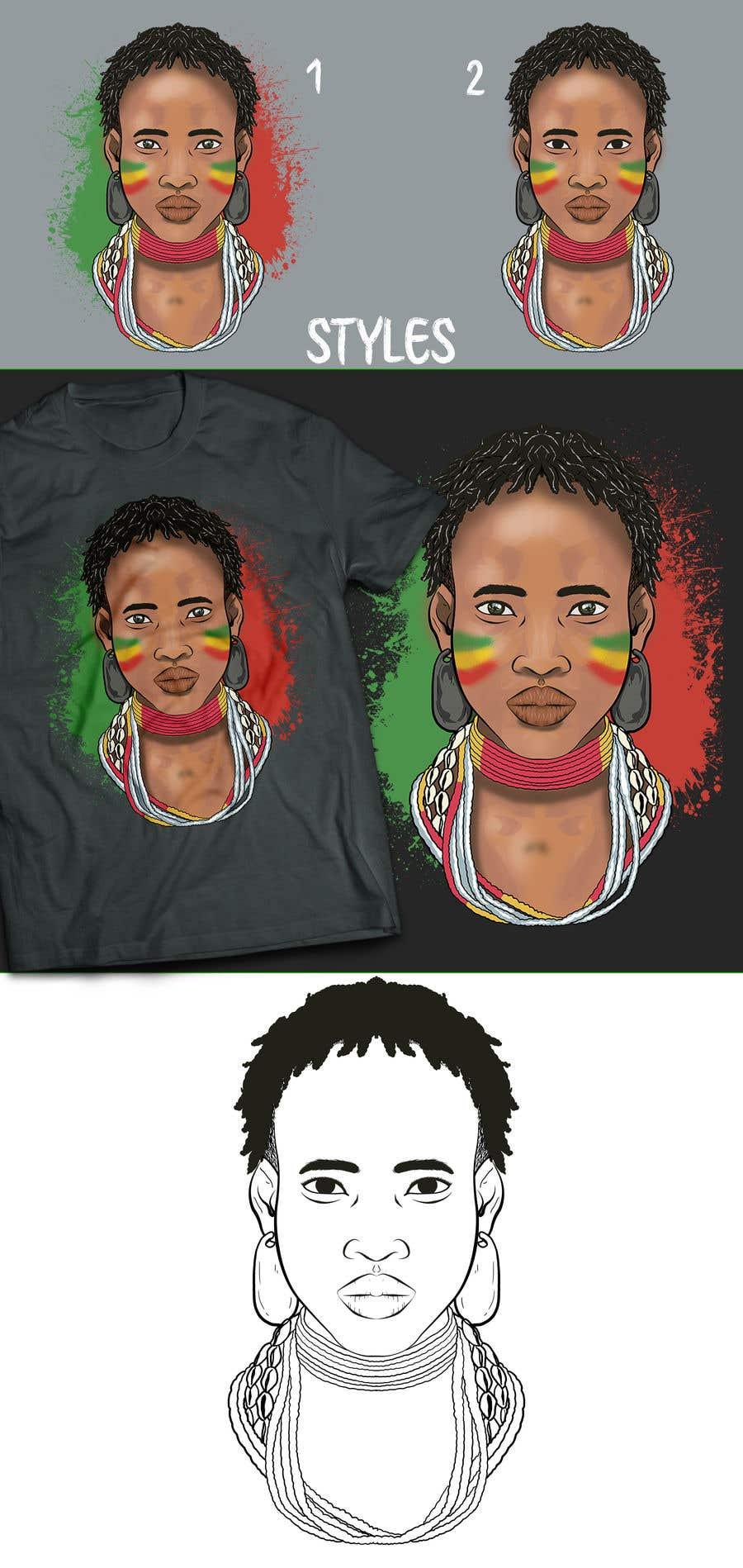 Konkurrenceindlæg #38 for Design an Ethiopian or Eritrean T-shirt