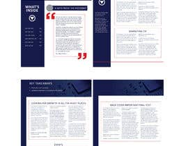 Nro 19 kilpailuun Change a newsletter template from a paper-based spread to single-page layout käyttäjältä jasimsdesign