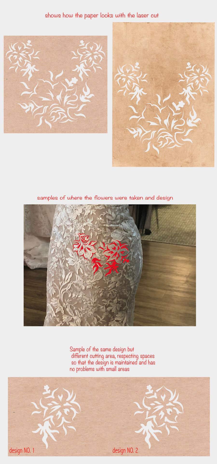 Конкурсная заявка №18 для Vectorize lace pattern for laser cutting
