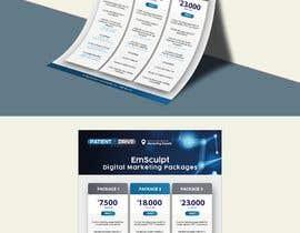 #17 untuk Flyer Design - Digital Marketing Package Comparison oleh AdlinKamal