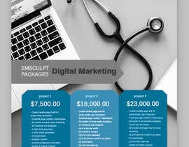 #25 for Flyer Design - Digital Marketing Package Comparison by tanjabvw