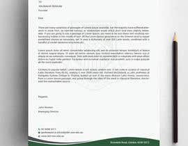 #250 para Letterhead, with compliments slip and business cards por Designopinion