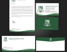 #402 para Letterhead, with compliments slip and business cards por PreetySignature