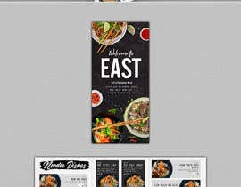 #3 untuk Create a B4 takeaway flyer from my menu provided oleh svetapro