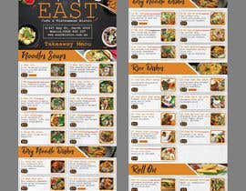 #28 untuk Create a B4 takeaway flyer from my menu provided oleh raiyansohan777