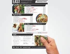 #1 untuk Create a B4 takeaway flyer from my menu provided oleh ridwantjandra