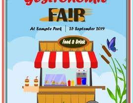 Nro 17 kilpailuun Gastronomic Fair poster design käyttäjältä DooodleDesign