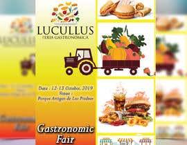 Nro 2 kilpailuun Gastronomic Fair poster design käyttäjältä plabonpalmer31