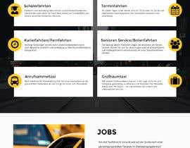 hstiwana51 tarafından Design Taxi Website Mockup için no 21