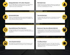 hstiwana51 tarafından Design Taxi Website Mockup için no 47