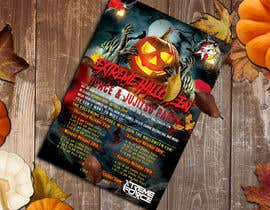 #50 for Halloween Party Flier af Ridoy203