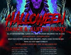 #52 for Halloween Party Flier af CJRomano