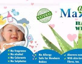 #21 cho Designing of Hand wash sticker and Baby's wet tissue packaging. bởi vinifpriya