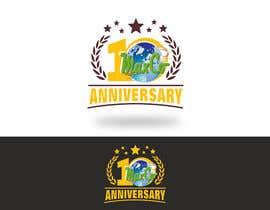 #53 untuk 10th Anniversary Logo oleh romeorider97