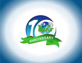 #94 untuk 10th Anniversary Logo oleh Sico66