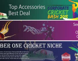 #3 for Professional 3 Banner design needed to be prepared for cricket shopify website af SJRuku