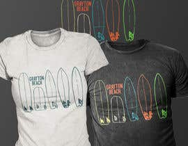 Exer1976 tarafından Create coastal/nautical/vintage souvenir beach t-shirt style design for use on t-shirt and logo for website için no 50