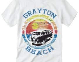 AbdullahPalash tarafından Create coastal/nautical/vintage souvenir beach t-shirt style design for use on t-shirt and logo for website için no 57