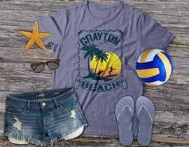 miltonbhowmik1 tarafından Create coastal/nautical/vintage souvenir beach t-shirt style design for use on t-shirt and logo for website için no 75