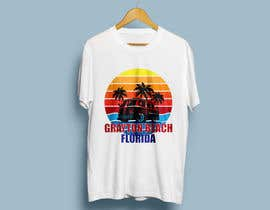 SALESFORCE76 tarafından Create coastal/nautical/vintage souvenir beach t-shirt style design for use on t-shirt and logo for website için no 66