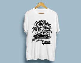 SALESFORCE76 tarafından Create coastal/nautical/vintage souvenir beach t-shirt style design for use on t-shirt and logo for website için no 68