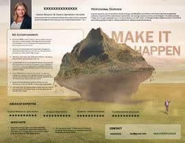 #232 pentru Graphic design for Executive Bio and Resume de către GabrielGoistais