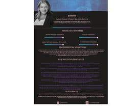 #201 pentru Graphic design for Executive Bio and Resume de către KIB19