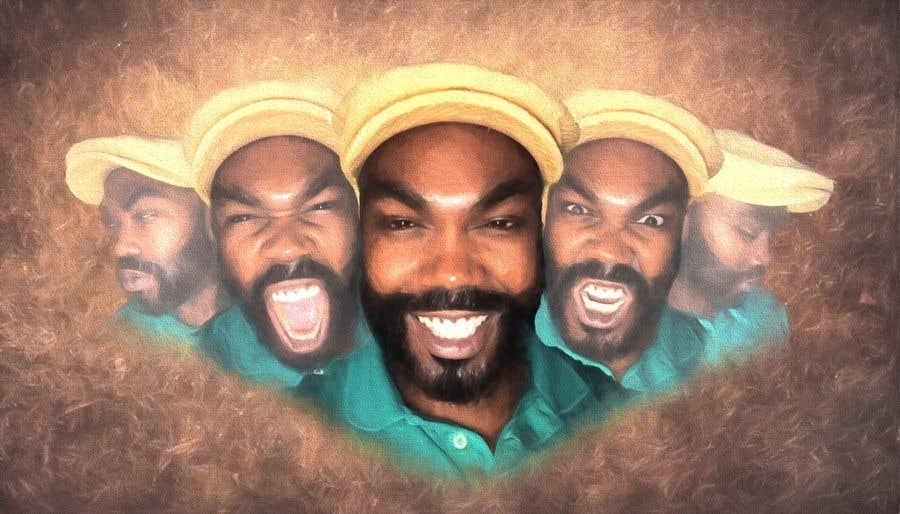 Penyertaan Peraduan #18 untuk Recreate image with my many faces.