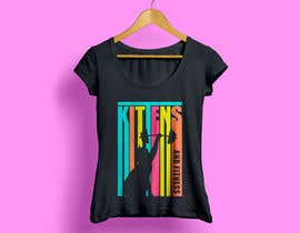 #104 for T-Shirt Graphic Design - Kittens & Fitness by Trjimad2